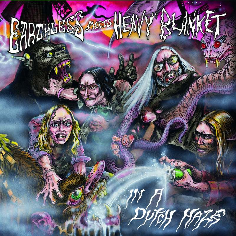 Earthless Meet Heavy Blanket - In A Dutch Haze
