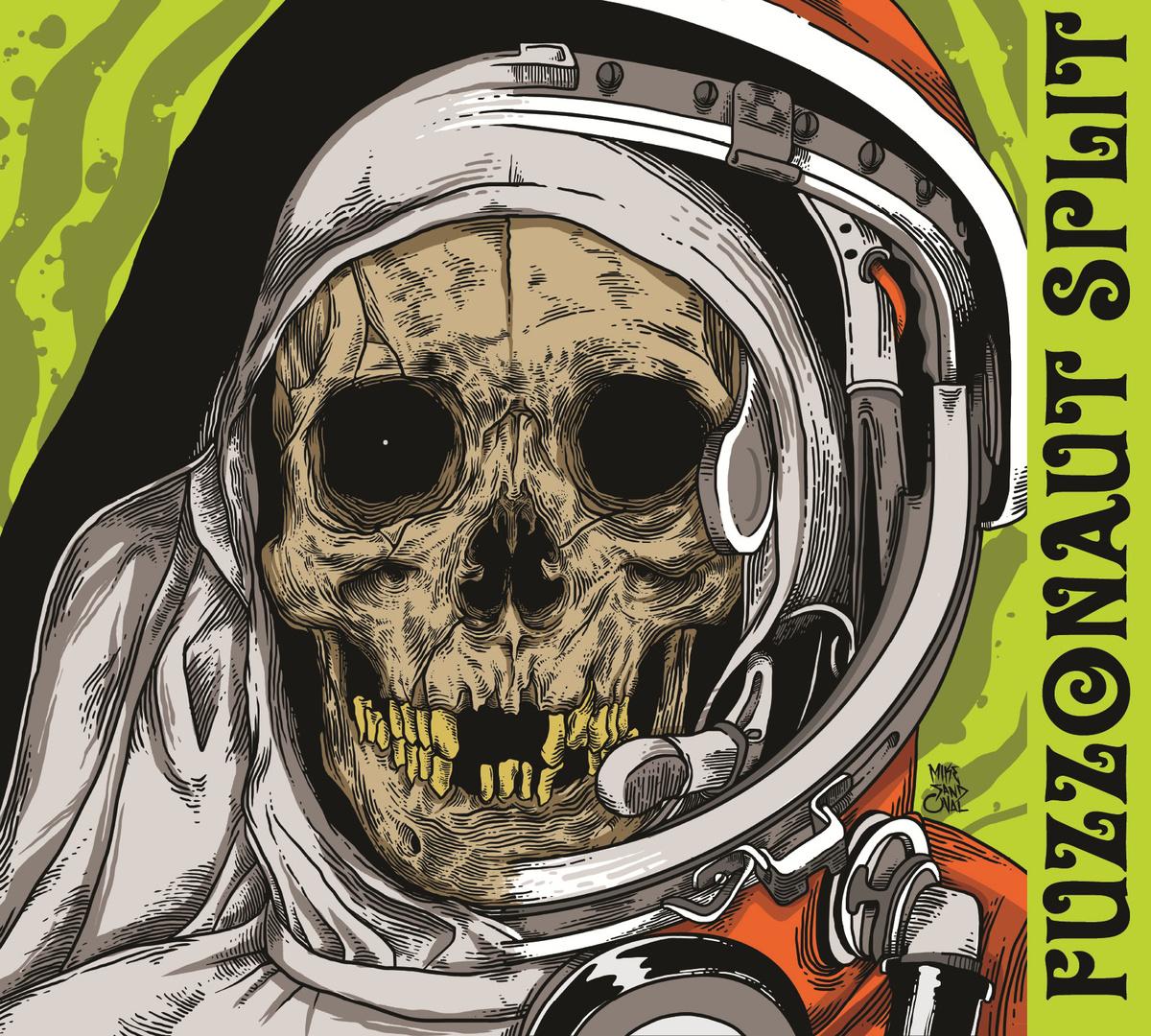 Vinnum Sabbathi & Bar De Monjas - Fuzzonaut Split