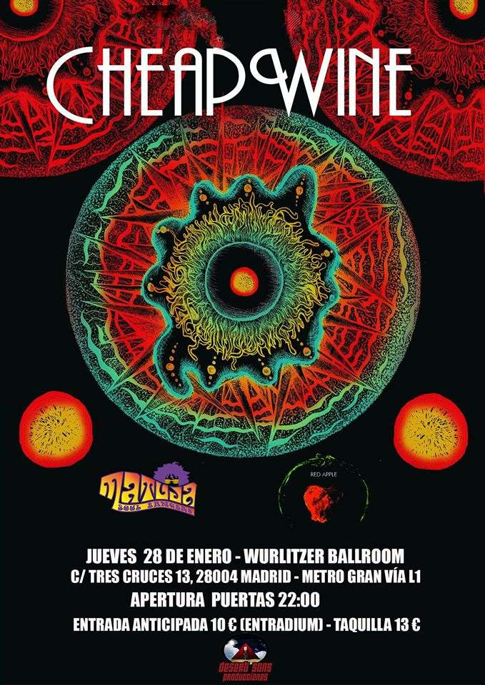 Cartel Cheap Wine + Red Apple + Matuja