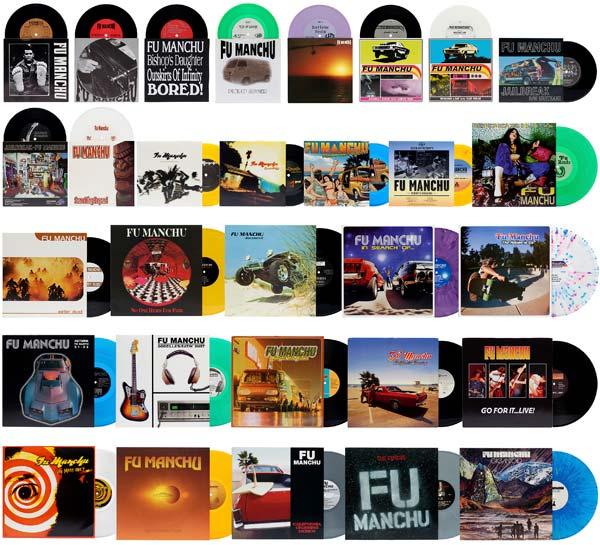 Fu Manchu All Records