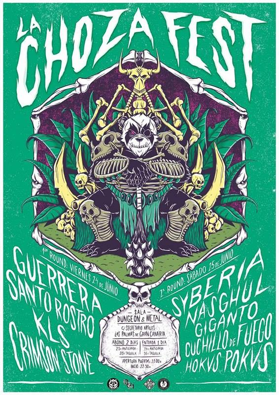 La Choza Fest 2016 Cartel