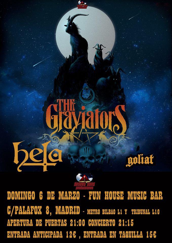 Cartel The Graviators + Hela + Goliat