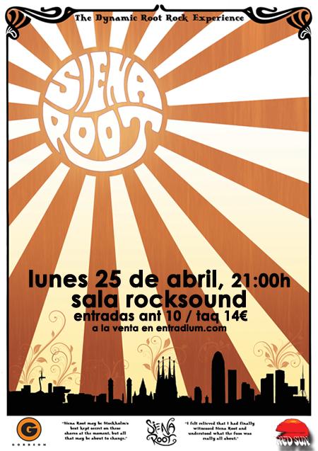 Cartel Siena Root Barcelona 2016