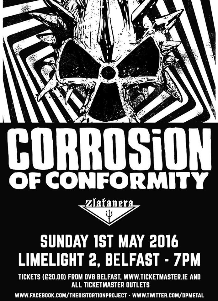 Cartel Corrosion Of Conformity + Zlatanera