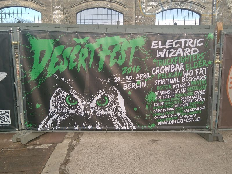 Desertfest Berlin Ambiente 1