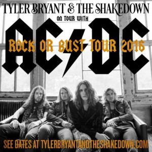 Crónica Tyler Bryant & The Shakedown (Moby Dick, Madrid)