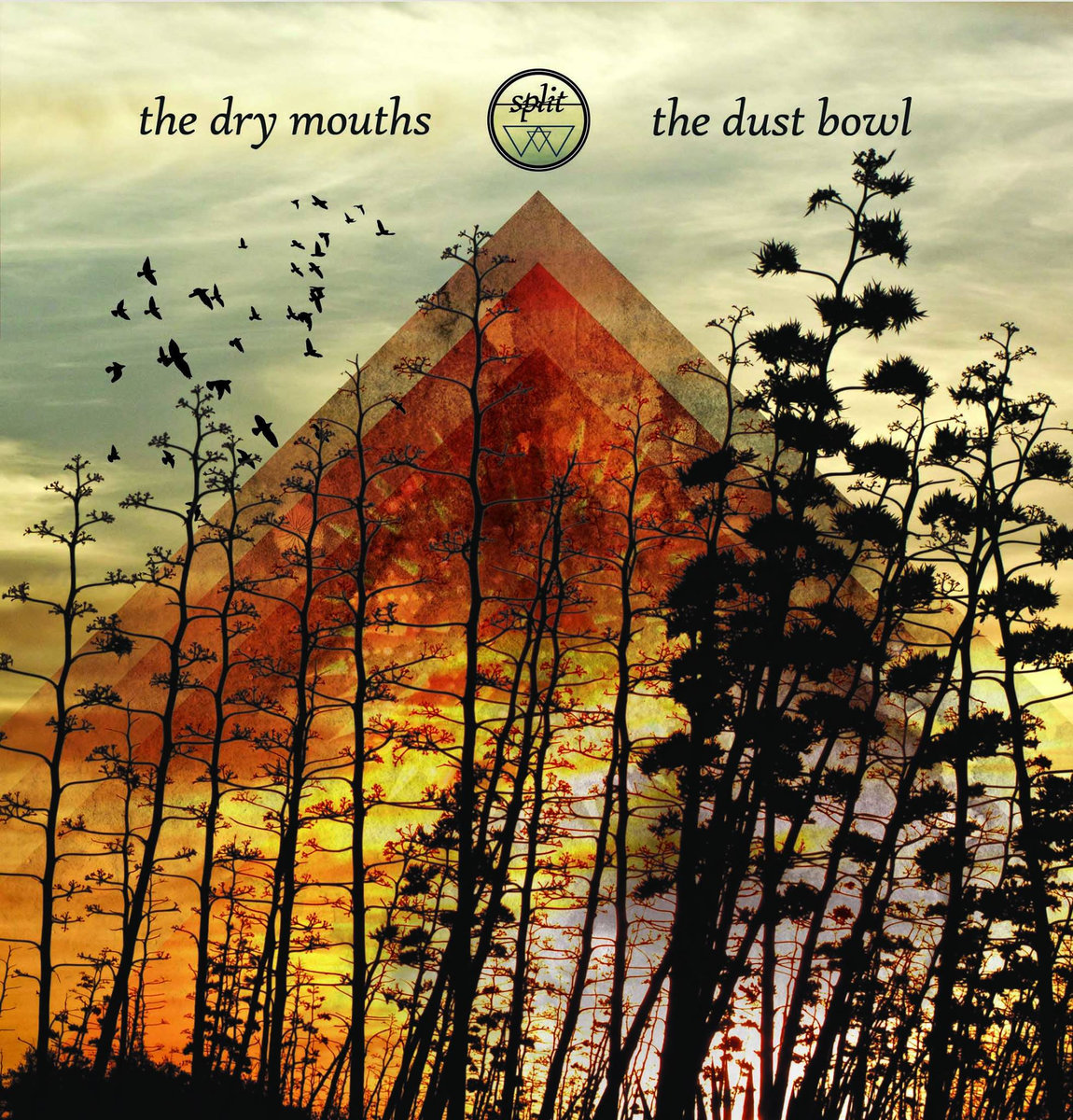 The Dry Mouths - The Dust Bowl Split