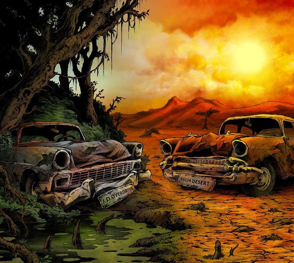 Palm Desert - J.D. Overdrive Split