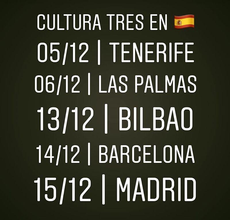 cultura-tres-spanish-tour-2019