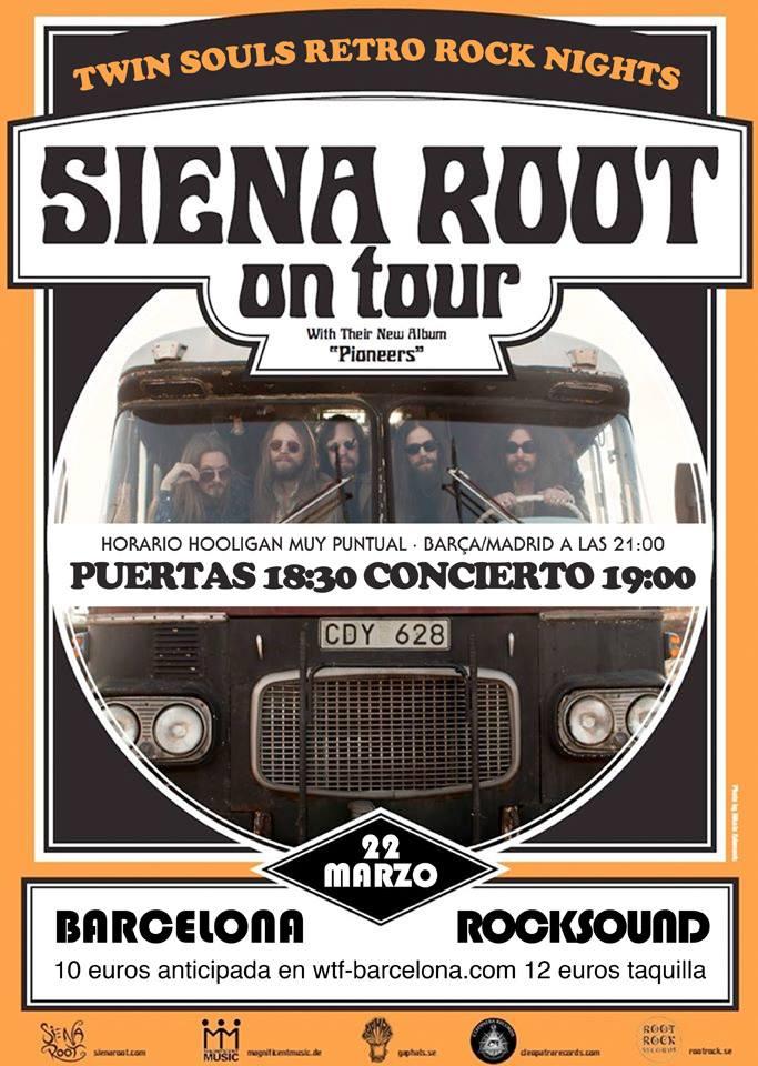 Cartel Siena Root Barcelona