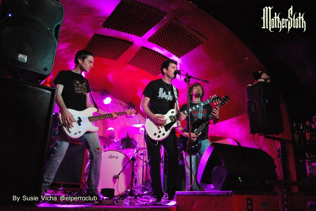 Mothersloth Band Live