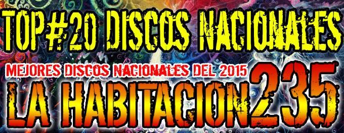 Top 2015 - Mejores Discos Nacionales - La Habitación 235