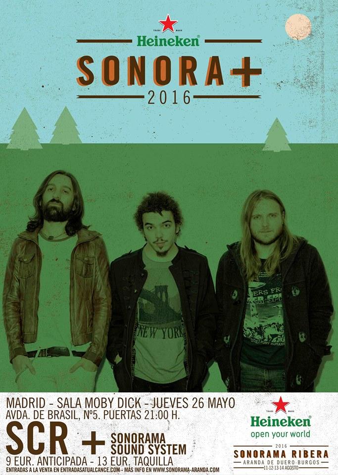 SCR Cartel Madrid 2016