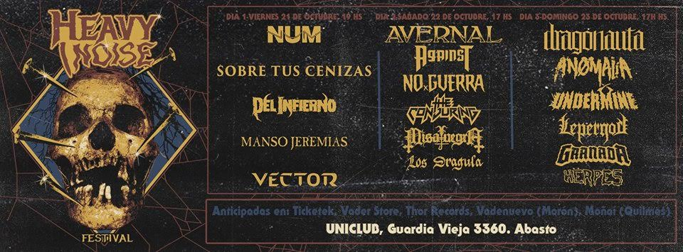 Cartel Heavy Noise Festival