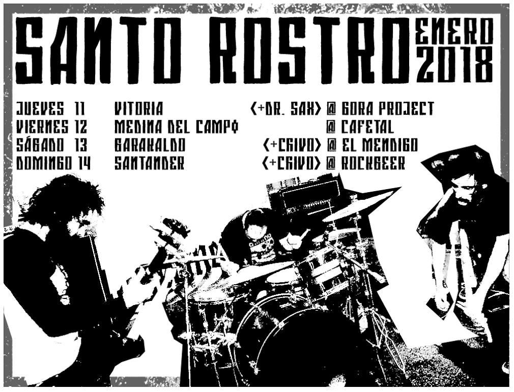 santo-rostro-cartel-mini-gira-norte-2018